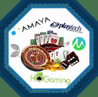 logiciel de casino live